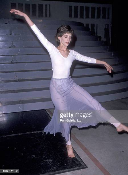 Actress Tracy Nelson attends the 61st Annual Academy Awards Rehearsals on March 20 1989 at ABC Studios in Hollywood California