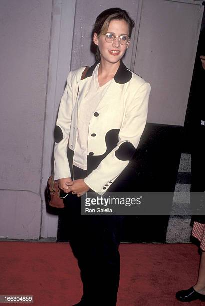 Actress Tracy Nelson attends the Boxing Helena Beverly Hills Premiere on August 23 1993 at Laemmle's Music Hall 3 in Beverly Hills California