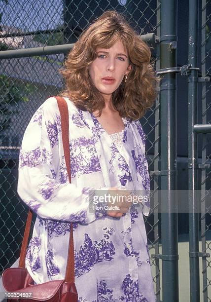 Actress Tracy Nelson attends the Sixth Annual Celebrity Tennis Classic to Benefit the MakeAWish Foundation on August 11 1990 at the Beverly Hills...