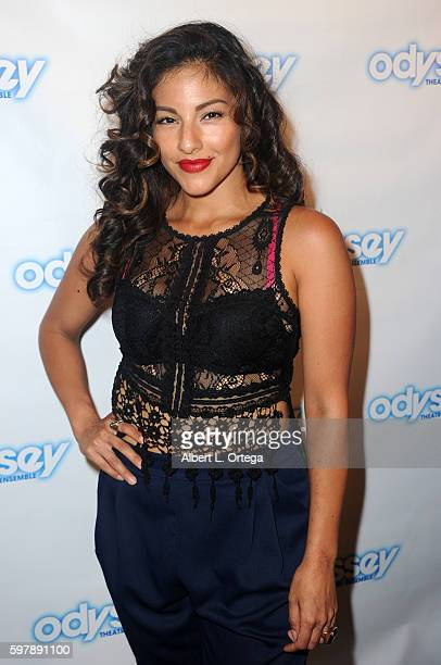 Actress Tracy Perez arrives for the Reading Of 'The Blade Of Jealousy/La Celsa De Misma' held at The Odyssey Theatre on August 29 2016 in Los Angeles...