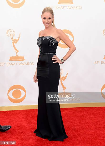 Actress Tracy Pollan arrives at the 65th Annual Primetime Emmy Awards held at Nokia Theatre L.A. Live on September 22, 2013 in Los Angeles,...