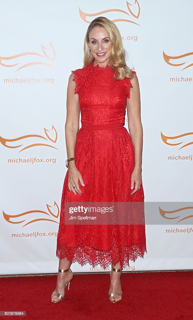 Actress Tracy Pollan attends the 2016 A Funny Thing Happened On The Way To Cure Parkinson's at The Waldorf Astoria on November 12, 2016 in New York City.