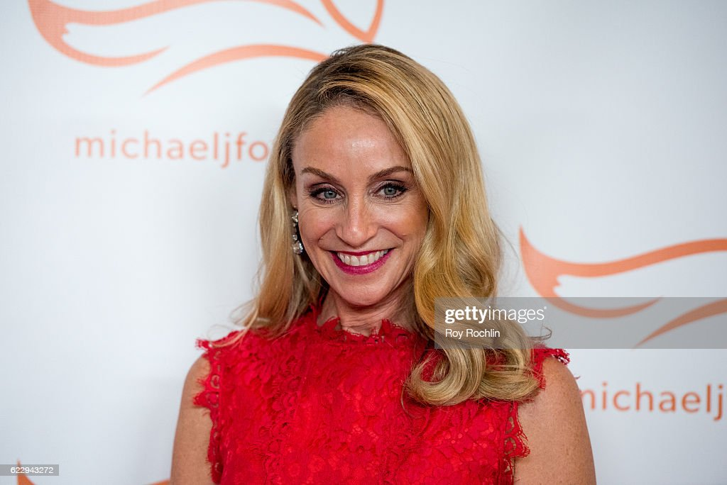 Actress Tracy Pollan attends the 2016 A Funny Thing Happened On The Way To Cure Parkinson's at The Waldorf=Astoria on November 12, 2016 in New York City.