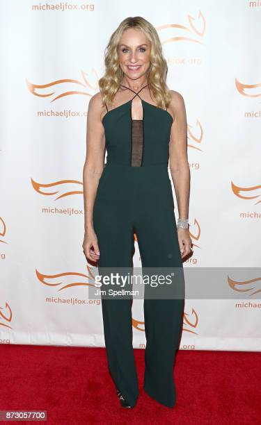 Actress Tracy Pollan attends the 2017 A Funny Thing Happened on the Way to Cure Parkinson's event at the Hilton New York on November 11 2017 in New...