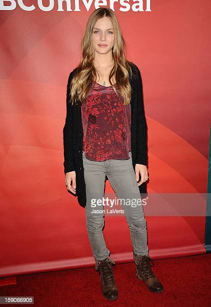 Actress Tracy Spiridakos attends the 2013 NBC TCA Winter Press Tour at The Langham Huntington Hotel and Spa on January 6 2013 in Pasadena California