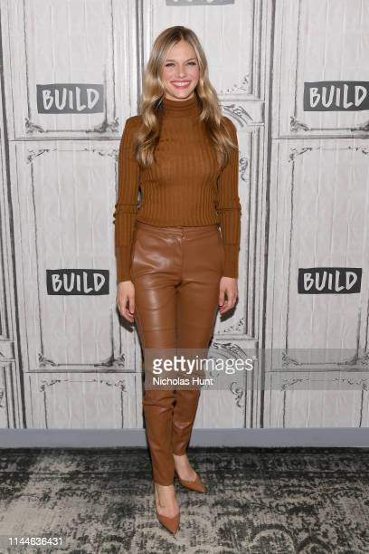Actress Tracy Spiridakos attends the Build Series to discuss Chicago PD at Build Studio on April 23 2019 in New York City