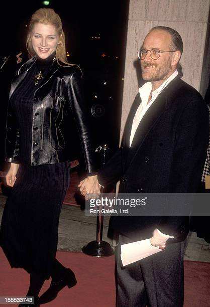 Actress Tracy Tweed and entertainment mogul Ted Field attend the Philadelphia Century City Premiere on December 14 1993 at Cineplex Odeon Century...