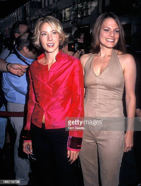 Actress Traylor Howard and actress Suzanne Cryer attend the ABC Upfront Presentation on May 16 2000 at Radio City Music Hall in New York City