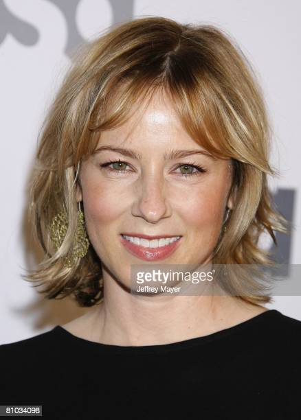 Actress Traylor Howard arrives at Characters Welcome USA Network celebrates it's Lineup of Stars on April 3 2008 at CRAFT in Century City California