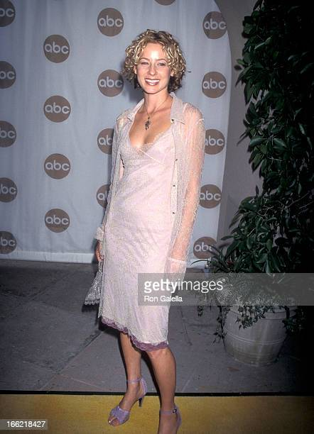 Actress Traylor Howard attends the ABC Summer TCA Press Tour on July 29 1999 at the RitzCarlton Hotel in Pasadena California