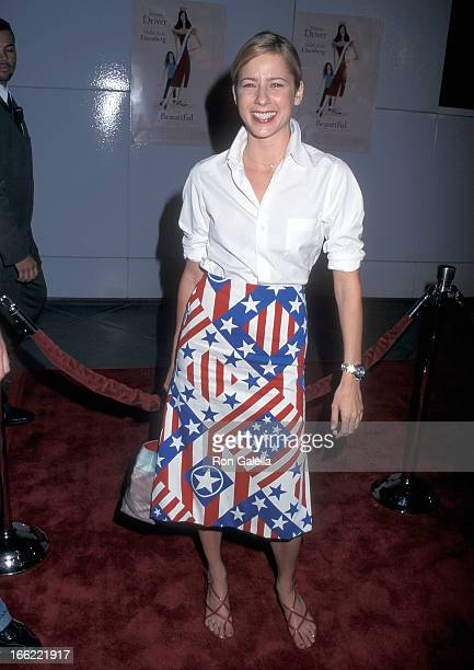Actress Traylor Howard attends the Beautiful Los Angeles Premiere on September 25 2000 at Los Angeles County Museum of Art in Los Angeles California