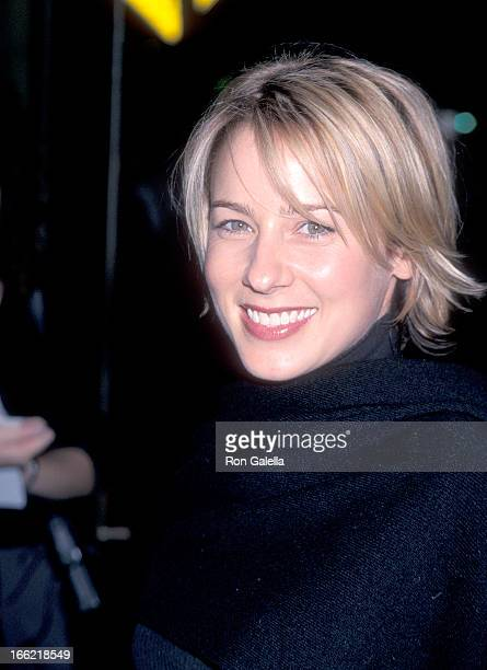 Actress Traylor Howard attends the Body Shots Hollywood Premiere on October 18 1999 at the Lloyd E Rigler Theatre Egyptian Theatre in Hollywood...