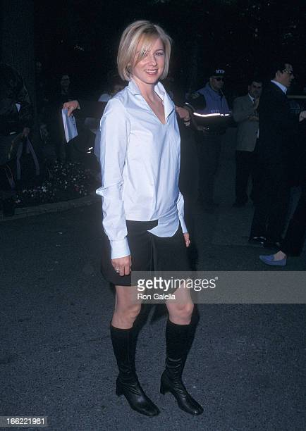 Actress Traylor Howard attends the CBS Upfront AllStar Party on May 15 2002 at the Tavern on the Green in New York City
