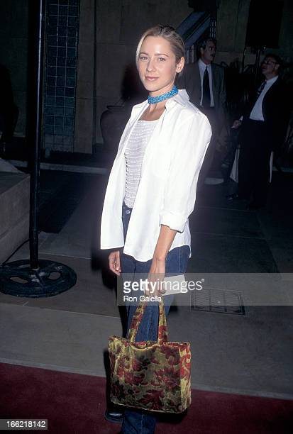 Actress Traylor Howard attends the Election Hollywood Premiere on April 19 1999 at the Egyptian Theatre in Hollywood California