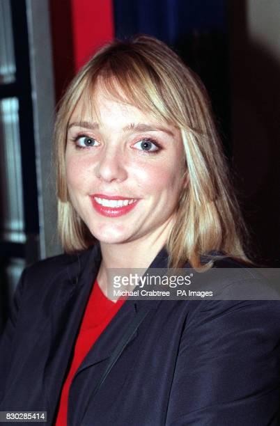 Actress Trevyn McDowell arriving at the Tricycle Theatre in London to watch Paul Corcoran's black comedythriller 'Four Nights In Knaresborough'...
