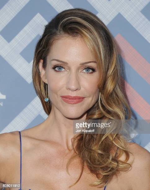 Actress Tricia Helfer arrives at the 2017 Fox Summer TCA Tour at the Soho House on August 8, 2017 in West Hollywood, California.