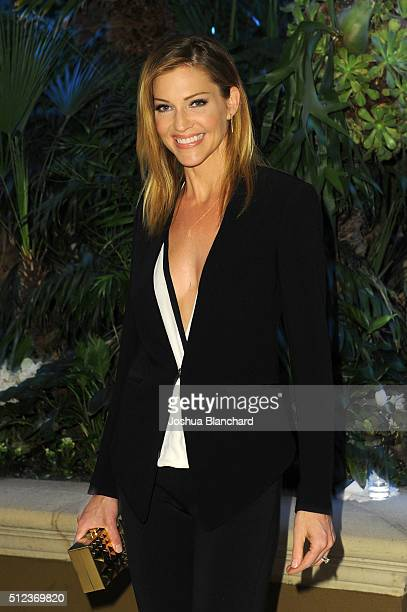 Actress Tricia Helfer arrives at the 3rd Annual 'An Evening With Canada's Stars' at the Four Seasons Hotel Los Angeles at Beverly Hills on February...