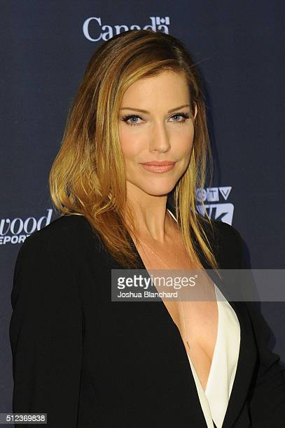 Actress Tricia Helfer Arrives At The 3rd Annual An Evening With Canadas Stars At