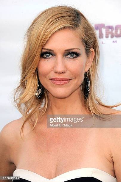 Actress Tricia Helfer arrives for the Etheria Film Night 2015 held at American Cinematheque's Egyptian Theatre on June 13 2015 in Hollywood California