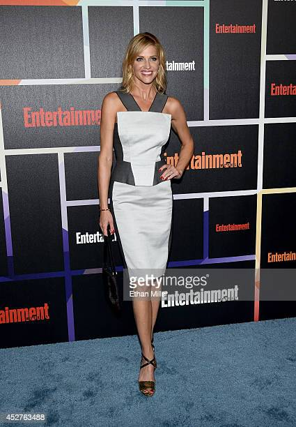 Actress Tricia Helfer attends Entertainment Weekly's annual ComicCon celebration at Float at Hard Rock Hotel San Diego on July 26 2014 in San Diego...