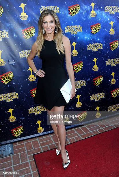 Actress Tricia Helfer attends the 42nd annual Saturn Awards at The Castaway on June 22 2016 in Burbank California