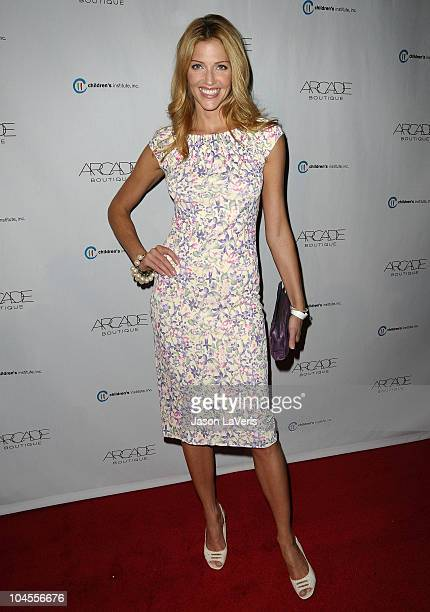 Actress Tricia Helfer attends the Autumn Party benefiting Children's Institute at The London Hotel on September 29, 2010 in West Hollywood,...