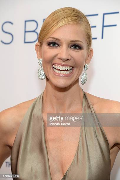 Actress Tricia Helfer attends The Humane Society Of The United States' Los Angeles Benefit Gala at the Beverly Wilshire Hotel on May 16 2015 in...