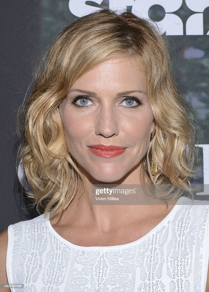 Actress Tricia Helfer attends the Starz Series 'Outlander' Premiere - Comic-Con International 2014 at Spreckels Theatre on July 25, 2014 in San Diego, California.