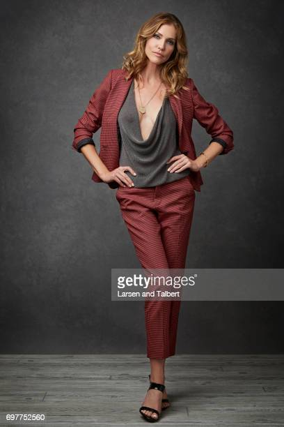 Actress Tricia Helfer is photographed for Entertainment Weekly Magazine on June 10 2017 in Austin Texas