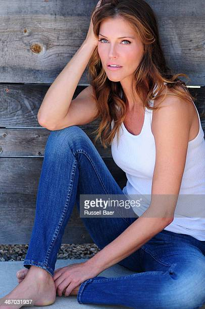 Actress Tricia Helfer is photographed for Gladys Magazine on August 1 2013 in Santa Monica California