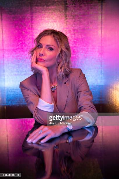 Actress Tricia Helfer of 'Van Helsing' is photographed for Los Angeles Times at Comic-Con International on July 18, 2019 in San Diego, California....