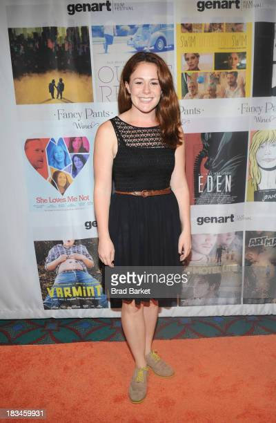 Actress Tricia Olds attends the 18th Annual Genart Film Festival Closing Night She Loves Me Not Swim Little Fish Swim Young Zero Hour The Motel Life...