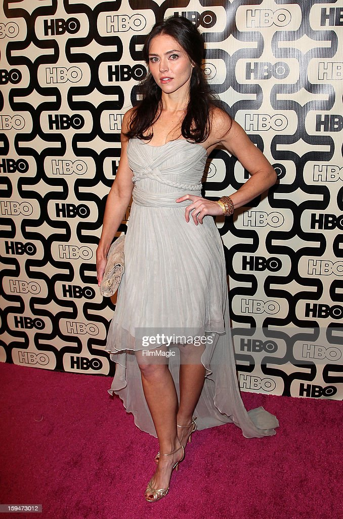 Actress Trieste Kelly Dunn attends HBO's Official Golden Globe Awards After Party held at Circa 55 Restaurant at The Beverly Hilton Hotel on January 13, 2013 in Beverly Hills, California.