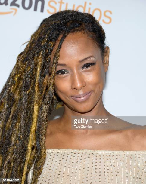 Actress Trina McGee attends the Education Through Music Los Angeles Gala at Skirball Cultural Center on November 28 2017 in Los Angeles California