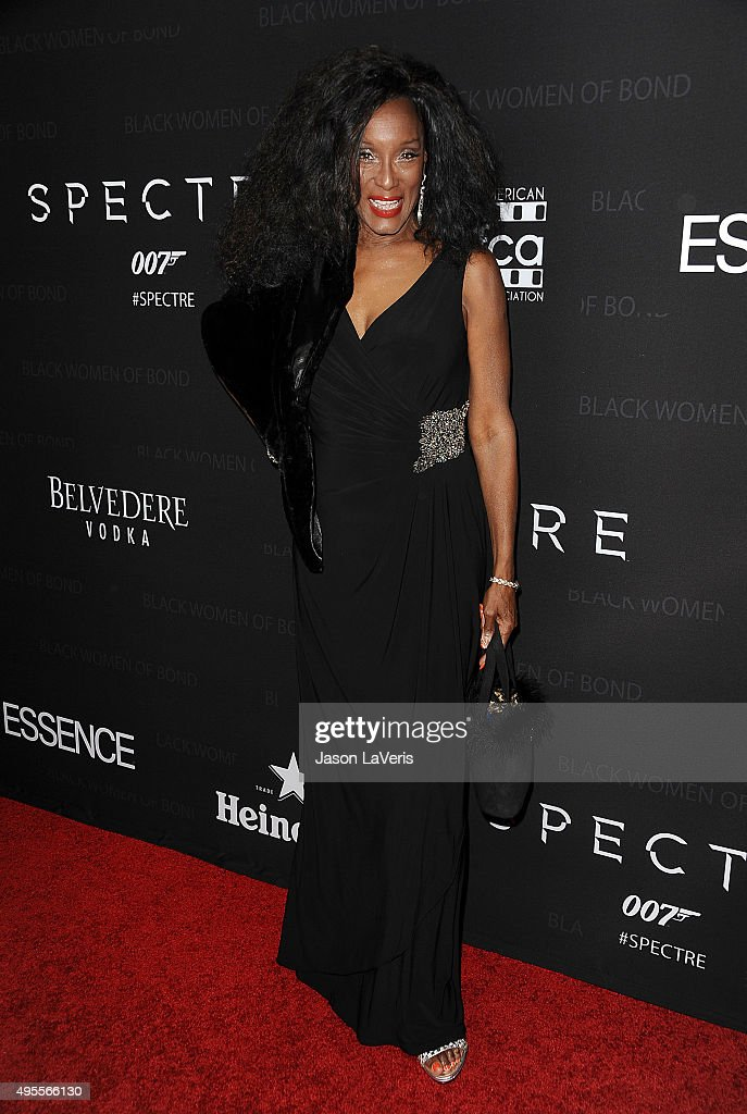 Actress Trina Parks attends 'Spectre' - The Black Women of Bond Tribute at California African American Museum on November 3, 2015 in Los Angeles, California.