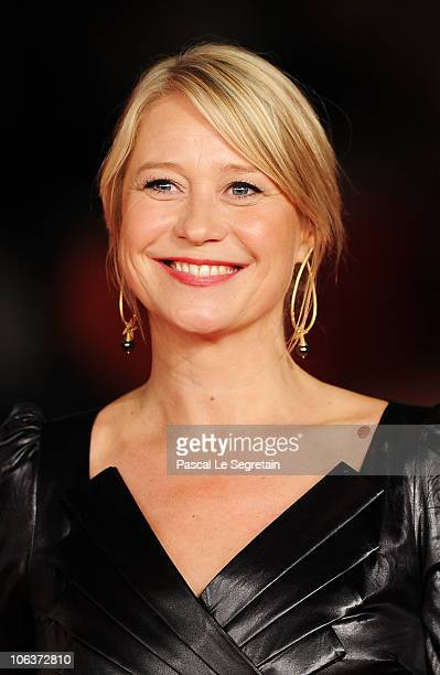 Actress Trine Dyrholm attends In A Better World premiere during The 5th International Rome Film Festival at Auditorium Parco Della Musica on October...