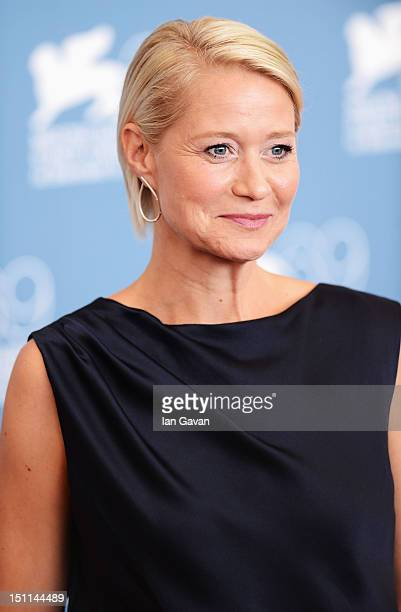Actress Trine Dyrholm attends the Love Is All You Need Photocall during the 69th Venice Film Festival at the Palazzo del Casino on September 2 2012...