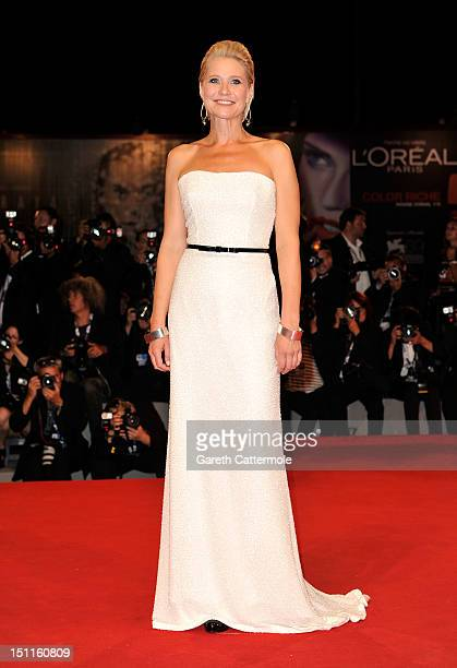 Actress Trine Dyrholm attends the Love Is All You Need Premiere during the 69th Venice Film Festival at the Palazzo del Cinema on September 2 2012 in...