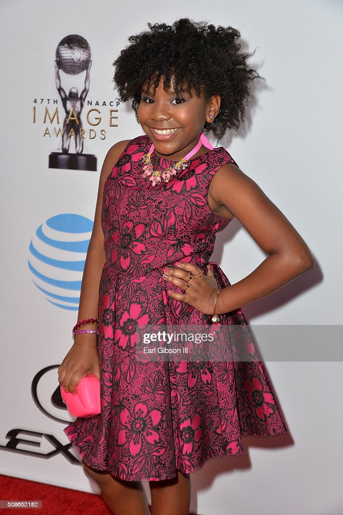 Actress Trinitee Stokes attends the 47th NAACP Image Awards presented by TV One at Pasadena Civic Auditorium on February 5, 2016 in Pasadena, California.