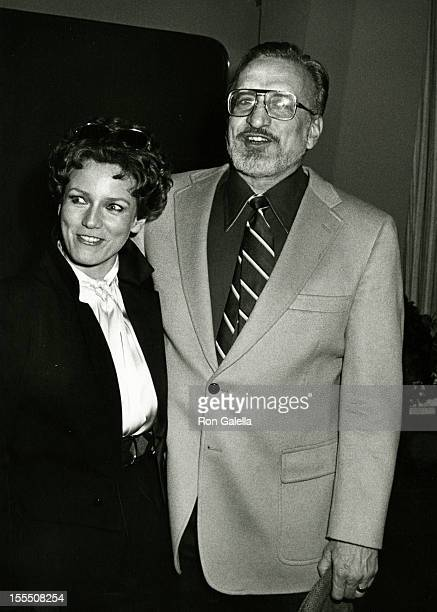 Actress Trish Van Devere and actor George C Scott attend the opening of Tricks of the Trade on November 6 1980 at the Brooks Atkinson Theater in New...