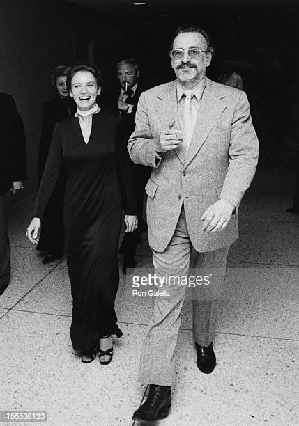 Actress Trish Van Devere and actress George C Scott attend the opening of Uncle Vanya on June 4 1973 at the Circle in the Square Theater in New York...