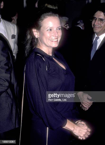 Actress Trish Van Devere attends the Hollywood Women's Political Committee Honors on October 16 1984 at Beverly Hilton Hotel in Beverly Hills...