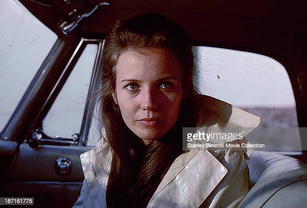 Actress Trish Van Devere in a scene from the movie 'The Last Run' 1971