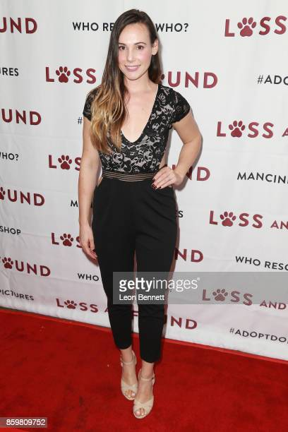 Actress Trisha Cuddy attends the Premiere Of Mancinetti's 'Loss And Found' at The Downtown Independent on October 9 2017 in Los Angeles California