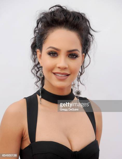 Actress Tristin Mays arrives at the 48th NAACP Image Awards at Pasadena Civic Auditorium on February 11 2017 in Pasadena California