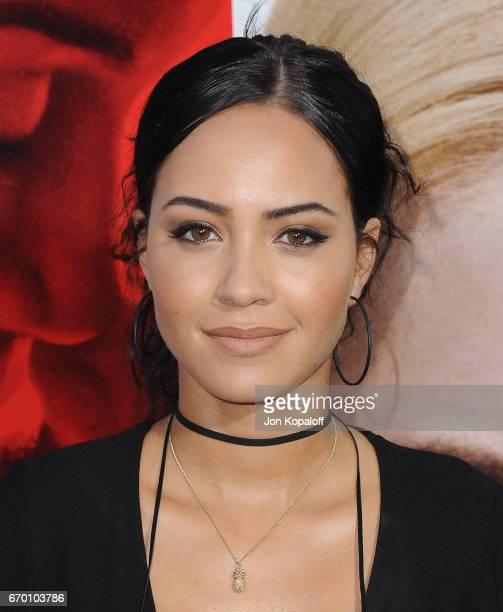 Actress Tristin Mays arrives at the Los Angeles Premiere 'Unforgettable' at TCL Chinese Theatre on April 18 2017 in Hollywood California