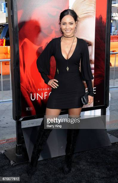 Actress Tristin Mays attends premiere of Warner Bros Pictures' 'Unforgettable' at TCL Chinese Theatre on April 18 2017 in Hollywood California
