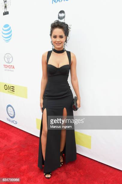 Actress Tristin Mays attends the 48th NAACP Image Awards at Pasadena Civic Auditorium on February 11 2017 in Pasadena California