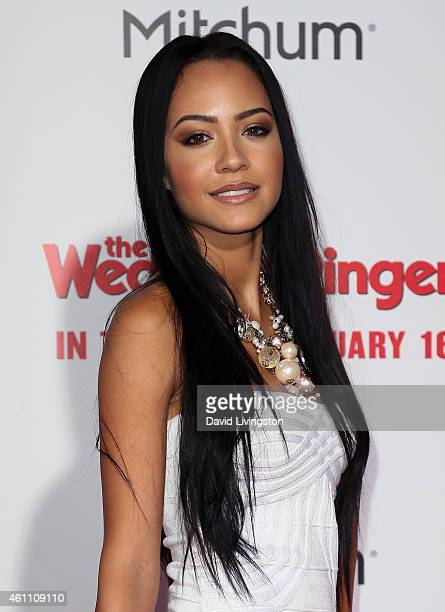 Actress Tristin Mays attends the premiere of Screen Gems' The Wedding Ringer at the TCL Chinese Theatre on January 6 2015 in Hollywood California