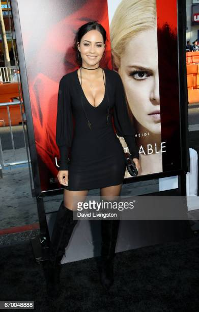 Actress Tristin Mays attends the premiere of Warner Bros Pictures' 'Unforgettable' at TCL Chinese Theatre on April 18 2017 in Hollywood California